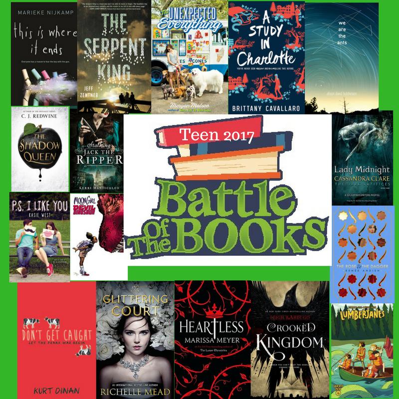 Battle Of The Books 2017 Teen Bracket Augusta Memorial Public Library