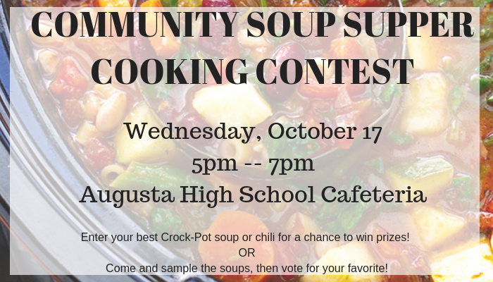 COMMUNITY SOUP SUPPER COOKING CONTEST