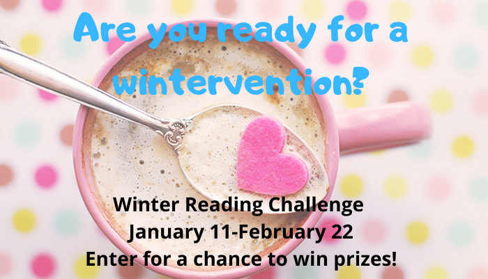 Click here for winter reading challenge list.