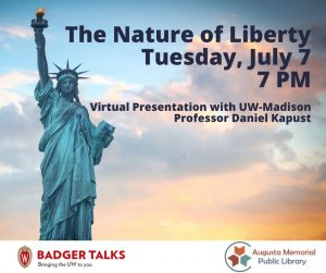 The Nature of Liberty lecture