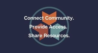 The Library's mission: connect community, provide access, share resources